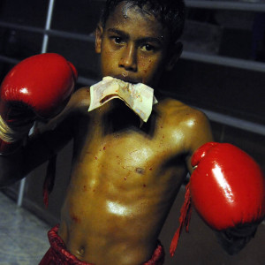 1child Thai boxer